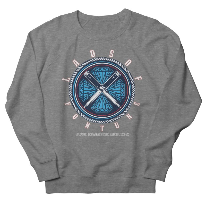 Blue Diamond Edition  Women's French Terry Sweatshirt by Lads of Fortune Artist Shop