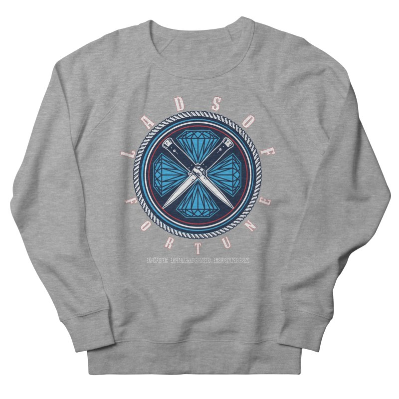Blue Diamond Edition  Women's Sweatshirt by Lads of Fortune Artist Shop