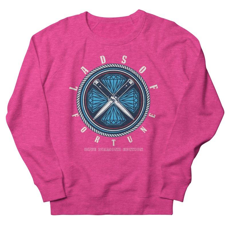 Blue Diamond Edition  Men's Sweatshirt by Lads of Fortune Artist Shop
