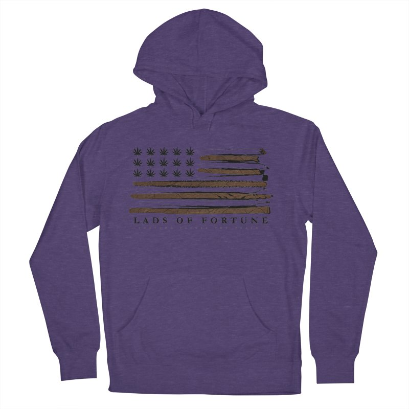 Roll it up! Legalize Women's French Terry Pullover Hoody by Lads of Fortune Artist Shop