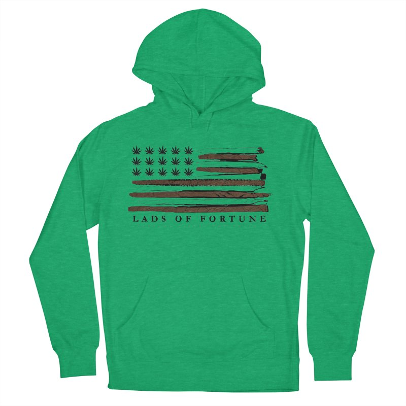 Roll it up! Legalize Men's French Terry Pullover Hoody by Lads of Fortune Artist Shop