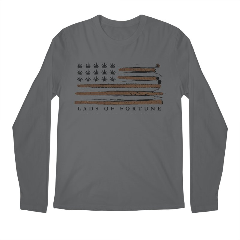 Roll it up! Legalize Men's Regular Longsleeve T-Shirt by Lads of Fortune Artist Shop