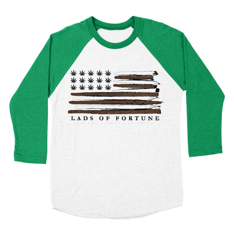 Roll it up! Legalize Men's Baseball Triblend T-Shirt by Lads of Fortune Artist Shop