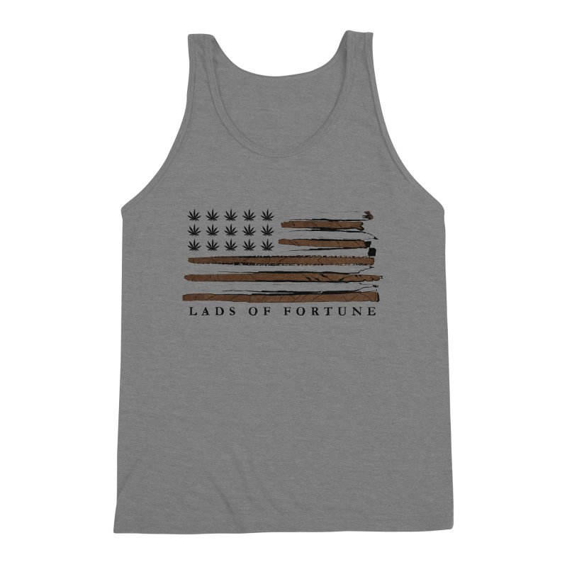 Roll it up! Legalize Men's Triblend Tank by Lads of Fortune Artist Shop