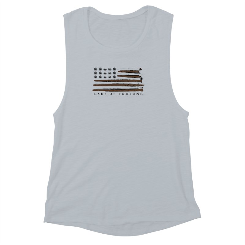 Roll it up! Legalize Women's Muscle Tank by Lads of Fortune Artist Shop