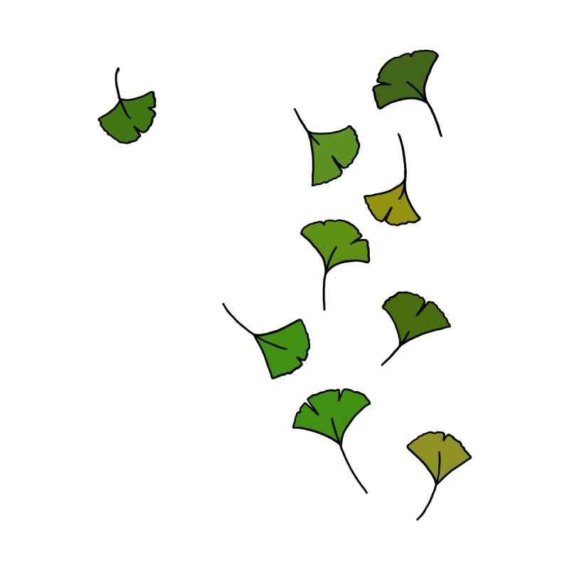 Ginkgo Leaves by LadyBaigStudio's Artist Shop