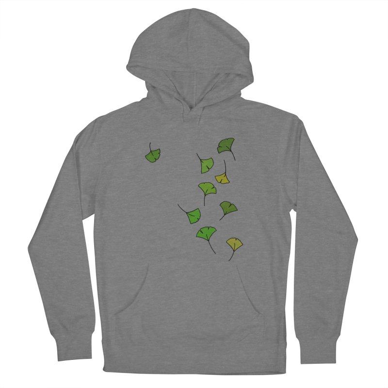 Ginkgo Leaves Women's Pullover Hoody by LadyBaigStudio's Artist Shop