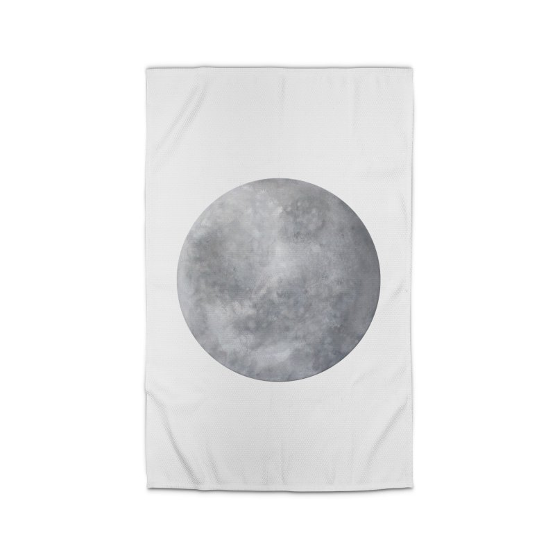 Full Moon Home Rug by LadyBaigStudio's Artist Shop