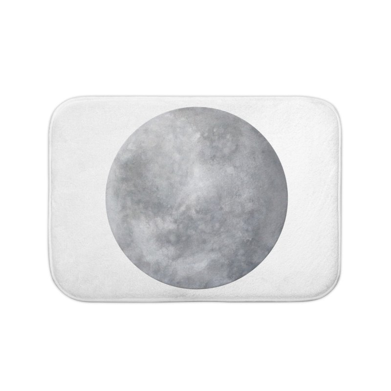 Full Moon Home Bath Mat by LadyBaigStudio's Artist Shop
