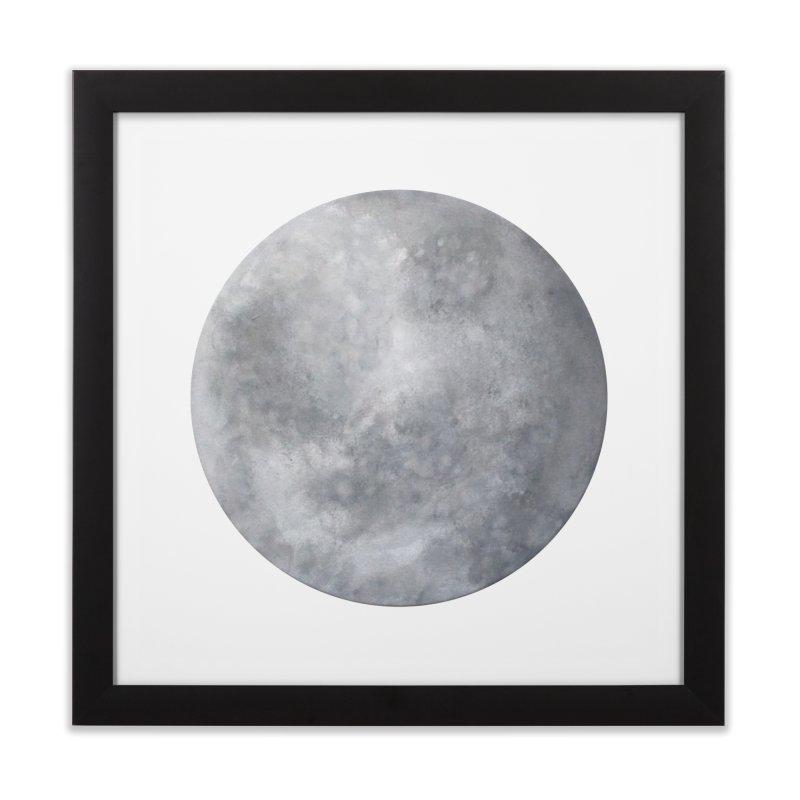 Full Moon Home Framed Fine Art Print by LadyBaigStudio's Artist Shop