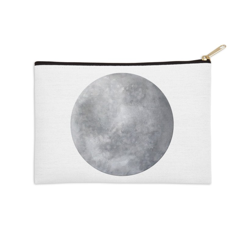 Full Moon Accessories Zip Pouch by LadyBaigStudio's Artist Shop