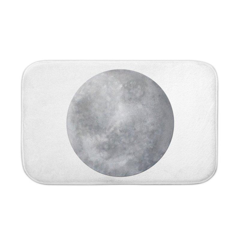 Full Moon Home Bath Mat by LadyBaigStudio's Artist Shop