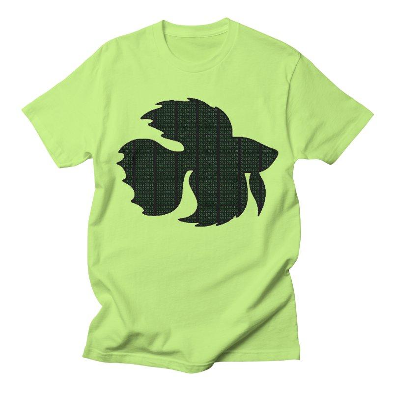 Beta Fish Men's Regular T-Shirt by LadyBaigStudio's Artist Shop