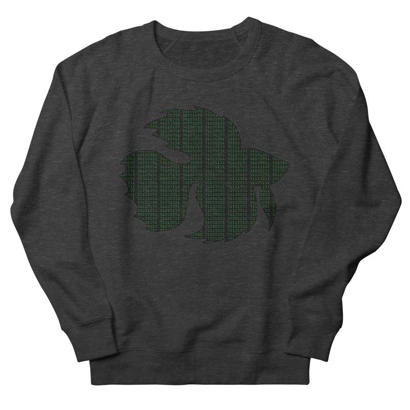Beta Fish Women's French Terry Sweatshirt by LadyBaigStudio's Artist Shop