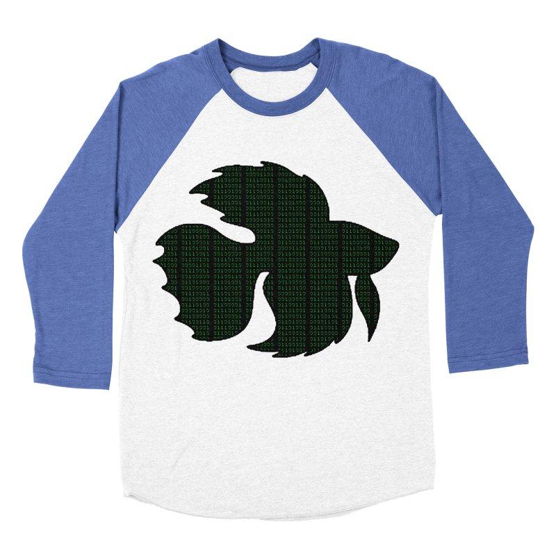 Beta Fish Women's Baseball Triblend Longsleeve T-Shirt by LadyBaigStudio's Artist Shop