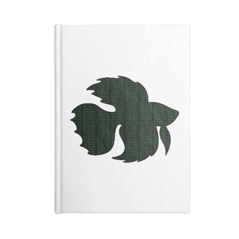 Beta Fish Accessories Blank Journal Notebook by LadyBaigStudio's Artist Shop