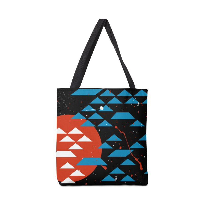 Geometric Galaxy Accessories Bag by LadyBaigStudio's Artist Shop