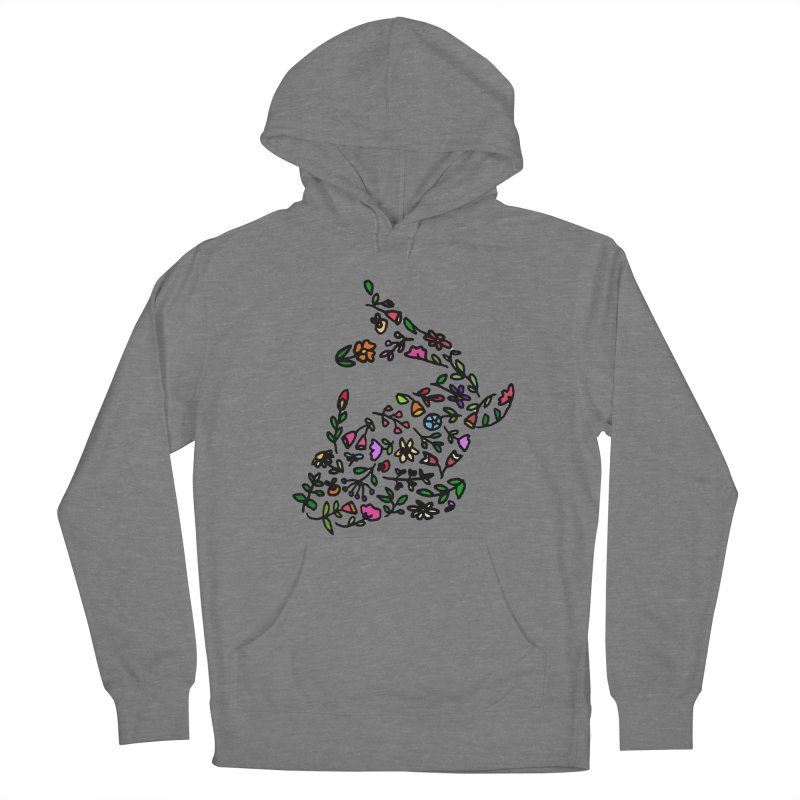 Floral Koi Fish 2 Women's Pullover Hoody by LadyBaigStudio's Artist Shop
