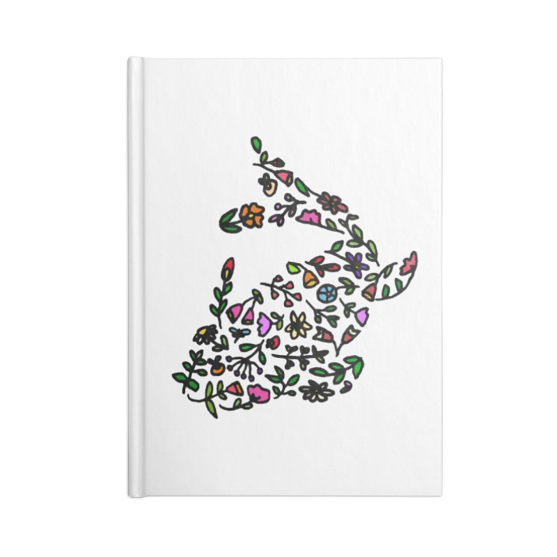 Floral Koi Fish 2 Accessories Notebook by LadyBaigStudio's Artist Shop