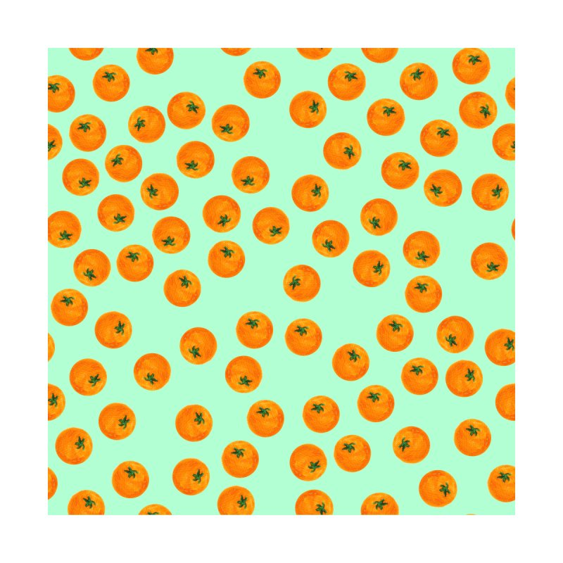 Repeating Oranges by LadyBaigStudio's Artist Shop