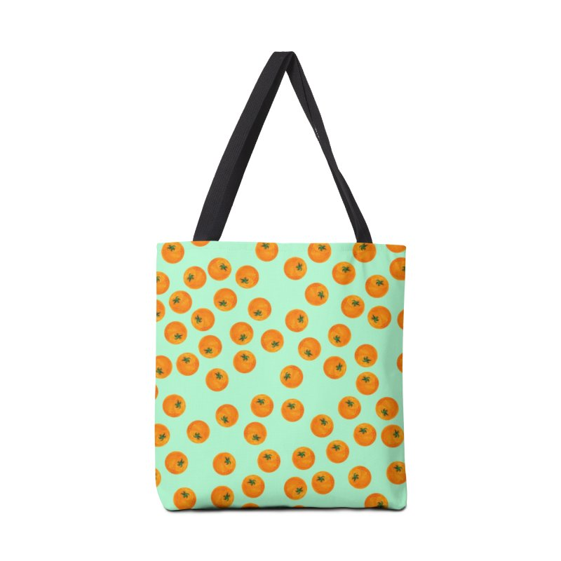 Repeating Oranges Accessories Bag by LadyBaigStudio's Artist Shop