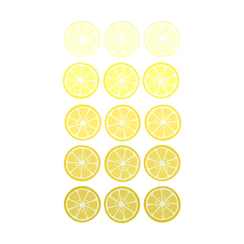 Gradient Lemons by LadyBaigStudio's Artist Shop