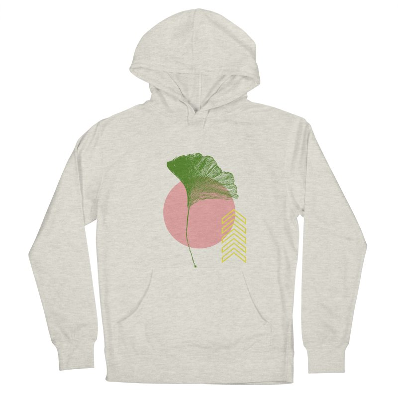 Ginkgo Leaf #1 Men's Pullover Hoody by LadyBaigStudio's Artist Shop