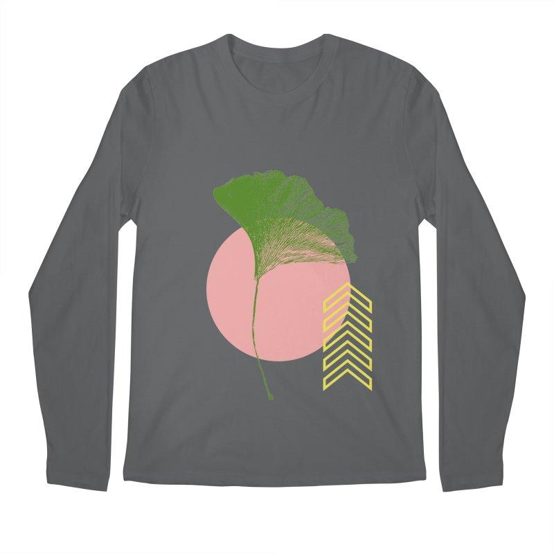 Ginkgo Leaf #1 Men's Longsleeve T-Shirt by LadyBaigStudio's Artist Shop