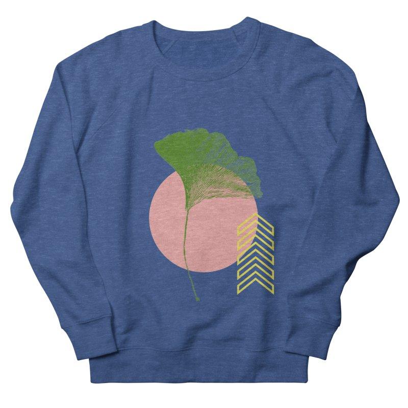 Ginkgo Leaf #1 Women's French Terry Sweatshirt by LadyBaigStudio's Artist Shop