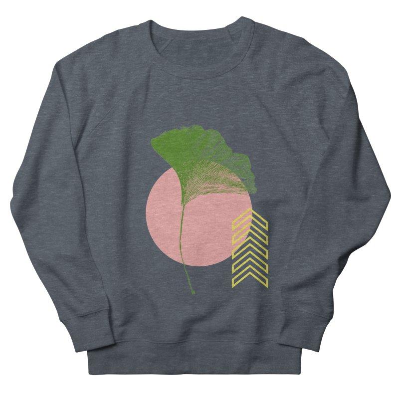 Ginkgo Leaf #1 Men's Sweatshirt by LadyBaigStudio's Artist Shop