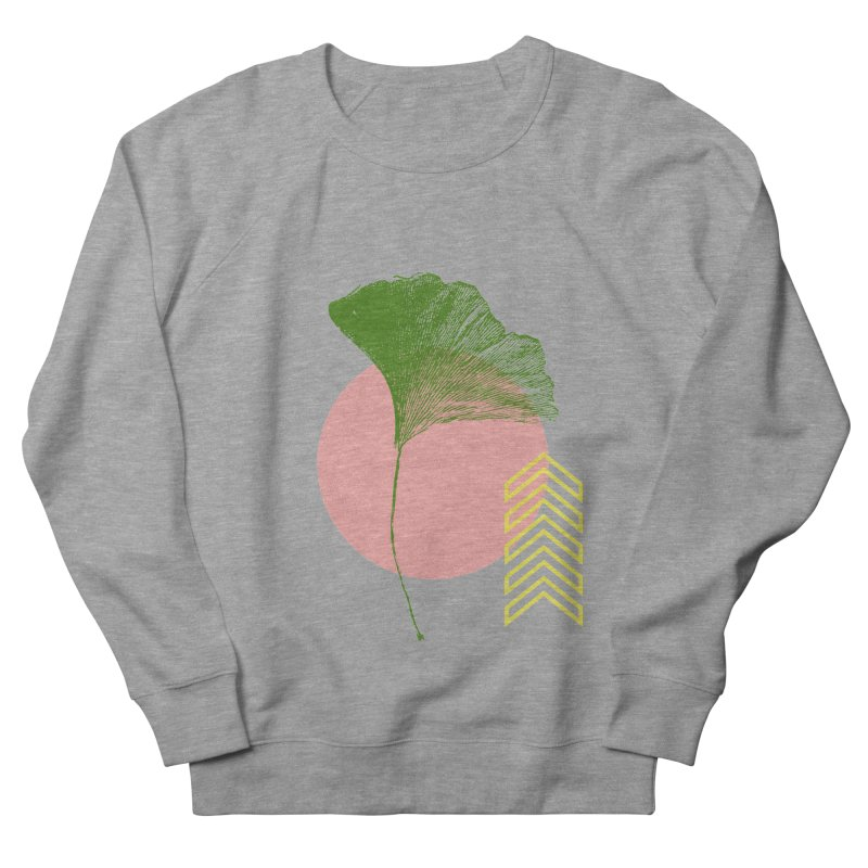 Ginkgo Leaf #1 Men's French Terry Sweatshirt by LadyBaigStudio's Artist Shop