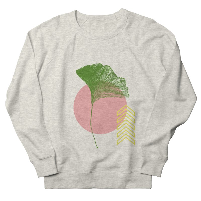 Ginkgo Leaf #1 Men's Sweatshirt by LadyBaigStudio's Artist Shop