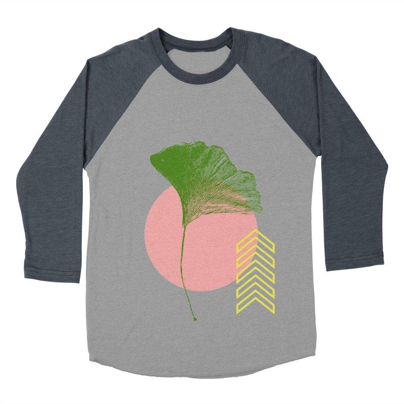 Ginkgo Leaf #1 Women's Baseball Triblend Longsleeve T-Shirt by LadyBaigStudio's Artist Shop