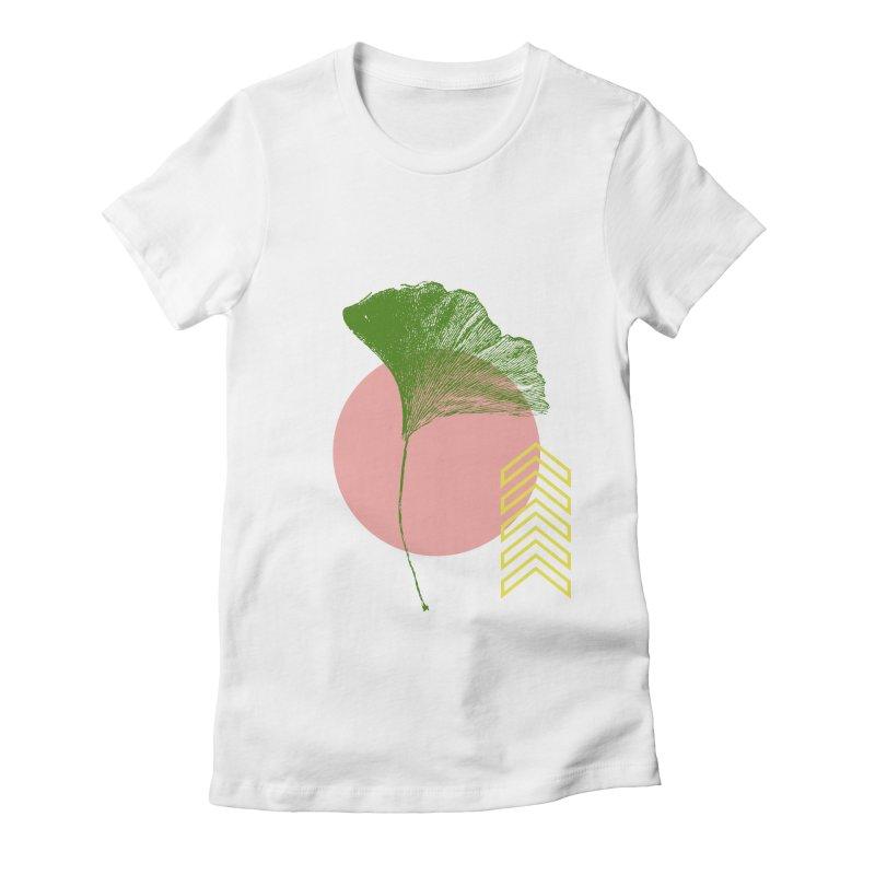 Ginkgo Leaf #1 Women's T-Shirt by LadyBaigStudio's Artist Shop