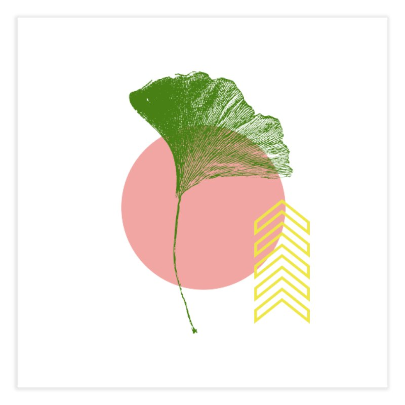 Ginkgo Leaf #1 Home Fine Art Print by LadyBaigStudio's Artist Shop