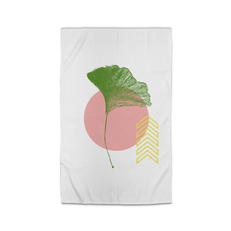 Ginkgo Leaf #1 Home Rug by LadyBaigStudio's Artist Shop