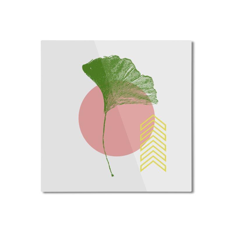 Ginkgo Leaf #1 Home Mounted Aluminum Print by LadyBaigStudio's Artist Shop