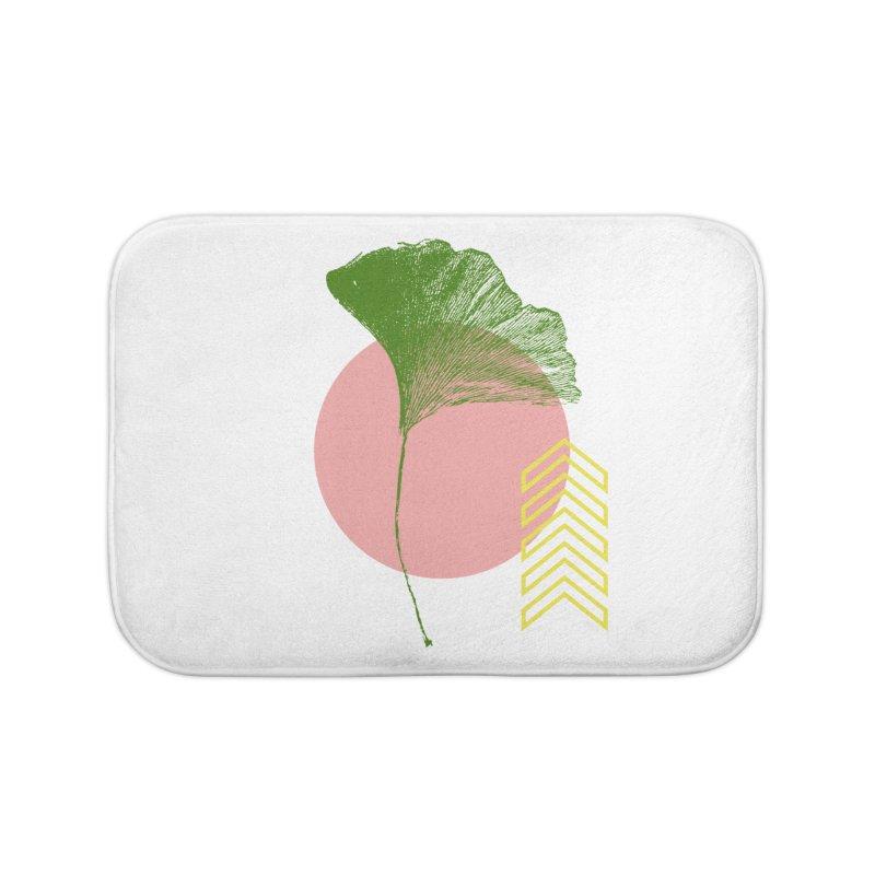 Ginkgo Leaf #1 Home Bath Mat by LadyBaigStudio's Artist Shop