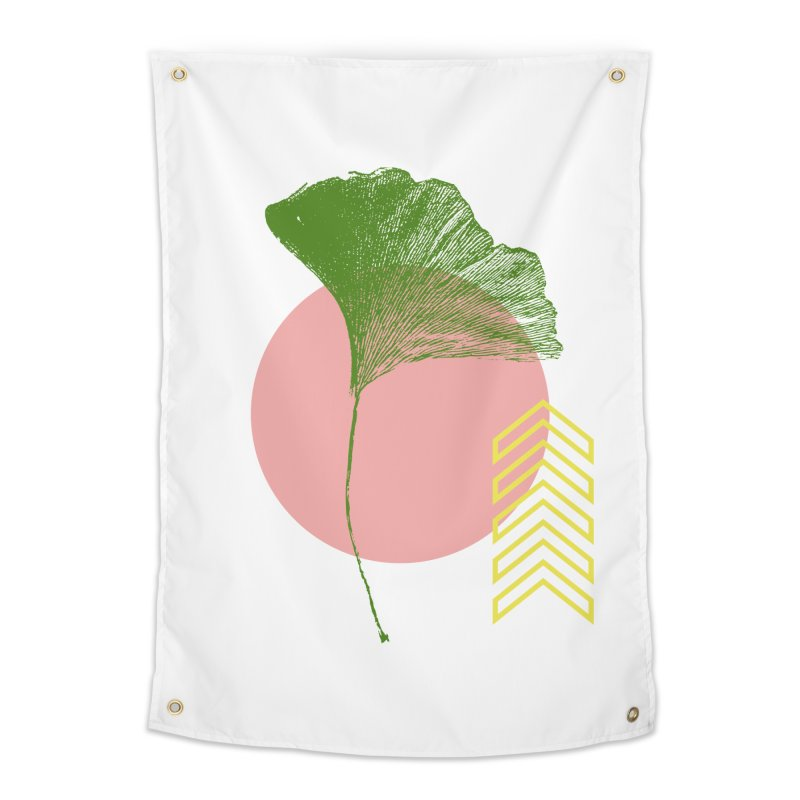 Ginkgo Leaf #1 Home Tapestry by LadyBaigStudio's Artist Shop