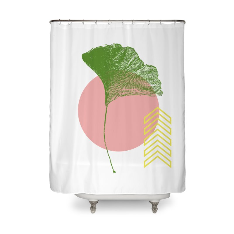 Ginkgo Leaf #1 Home Shower Curtain by LadyBaigStudio's Artist Shop