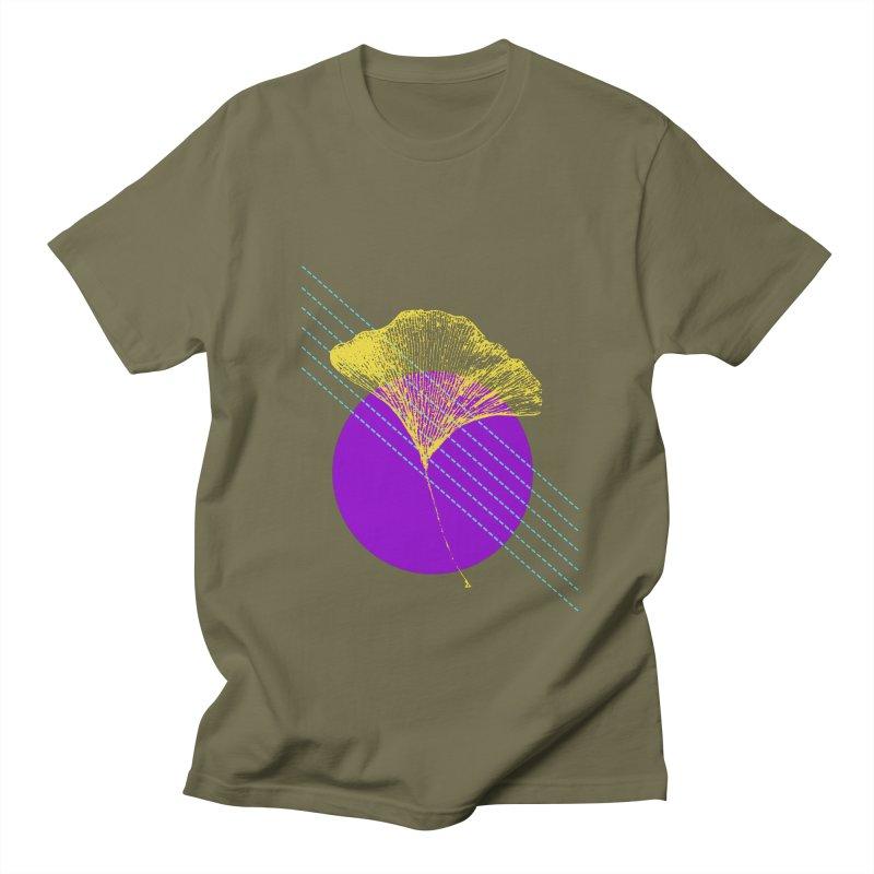 Ginkgo Leaf #2 Men's T-Shirt by LadyBaigStudio's Artist Shop