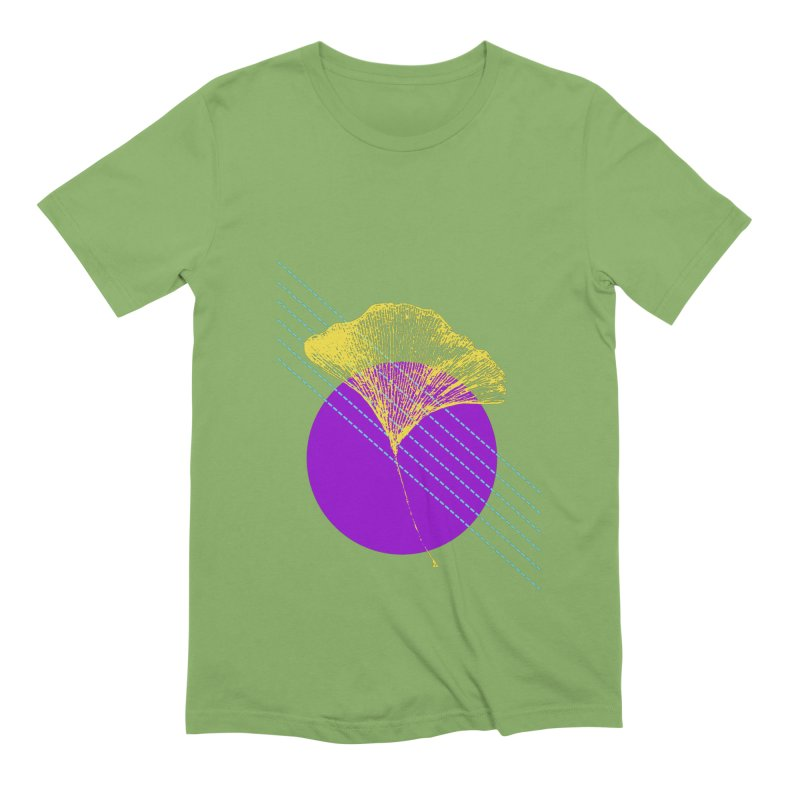 Ginkgo Leaf #2 Men's T-Shirt by LadyBaigStudio's Artist Shop