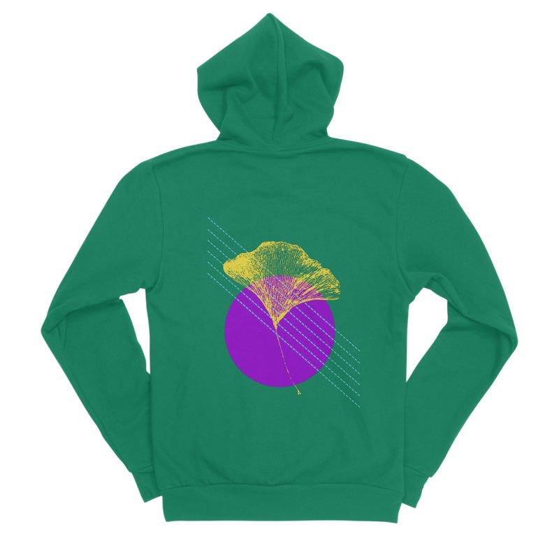 Ginkgo Leaf #2 Women's Zip-Up Hoody by LadyBaigStudio's Artist Shop