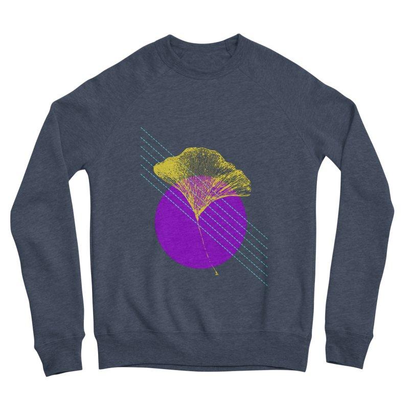 Ginkgo Leaf #2 Women's Sponge Fleece Sweatshirt by LadyBaigStudio's Artist Shop