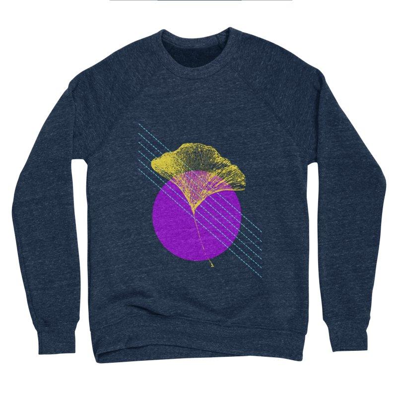 Ginkgo Leaf #2 Men's Sponge Fleece Sweatshirt by LadyBaigStudio's Artist Shop