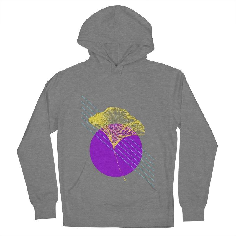 Ginkgo Leaf #2 Women's Pullover Hoody by LadyBaigStudio's Artist Shop