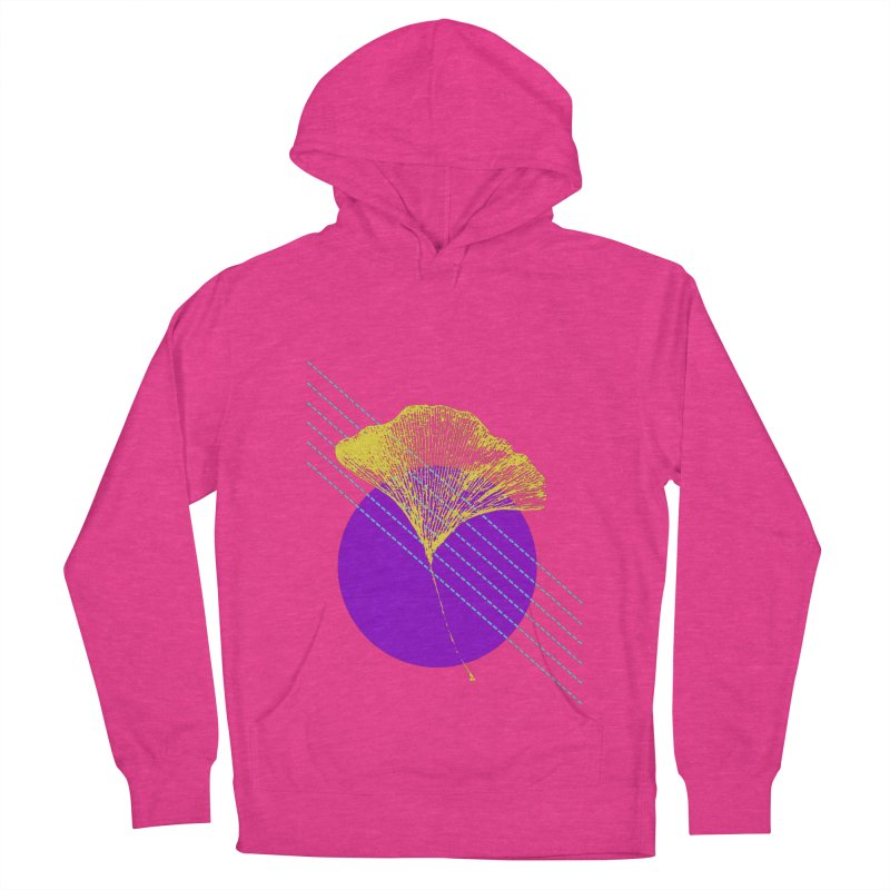 Ginkgo Leaf #2 Women's French Terry Pullover Hoody by LadyBaigStudio's Artist Shop