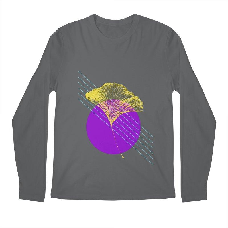Ginkgo Leaf #2 Men's Regular Longsleeve T-Shirt by LadyBaigStudio's Artist Shop