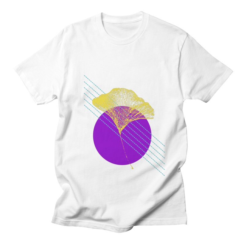 Ginkgo Leaf #2 Women's Regular Unisex T-Shirt by LadyBaigStudio's Artist Shop