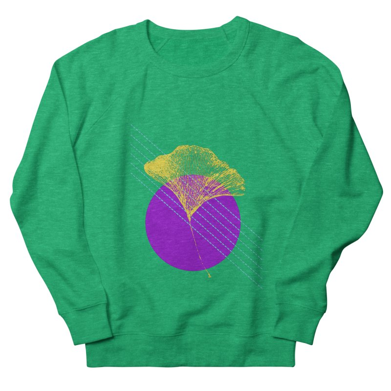 Ginkgo Leaf #2 Women's Sweatshirt by LadyBaigStudio's Artist Shop